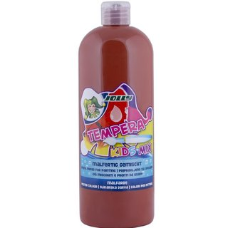 JOLLY Super Tempera Malfarben 1 Liter mittelbraun
