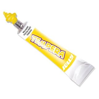 JOLLY Super Tempera Malfarben 7,5ml Tube hellgelb