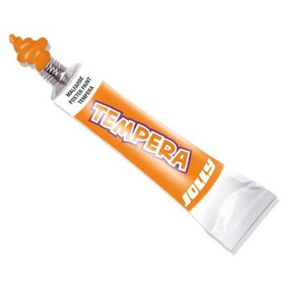 JOLLY Super Tempera Malfarben 7,5ml Tube hellorange
