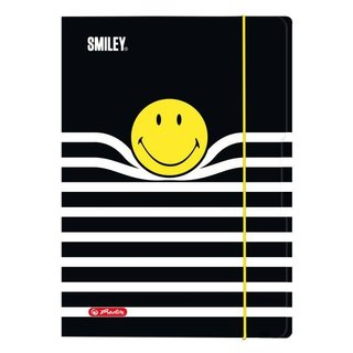 herlitz Zeichnungsmappe Smiley B&Y Stripes, DIN A4
