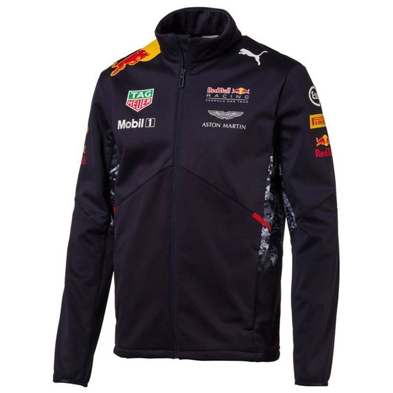PUMA Red Bull Racing Replica Team Softshell Night Sky S