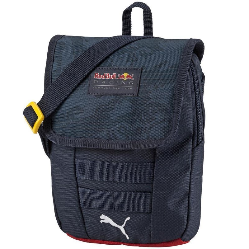 PUMA Red Bull Racing Lifestyle Portable Bag Total Eclipse Stampede
