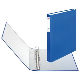 herlitz Ringbuch maX.file protect A4 4-Ring 40mm blau