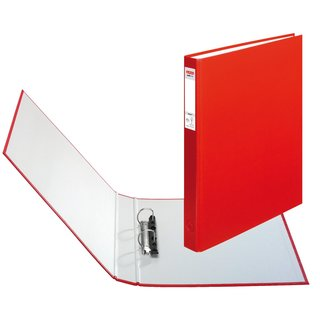 herlitz Ringbuch maX.file protect A4 2-Ring 40mm rot