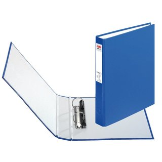 herlitz Ringbuch maX.file protect A5 2-Ring 40mm blau