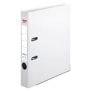 herlitz Ordner maX.file protect A4 50mm weiss