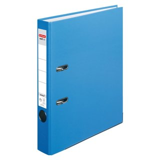 herlitz Ordner maX.file protect A4 50mm acqua