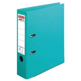 herlitz Ordner maX.file protect+ A4 80mm mint