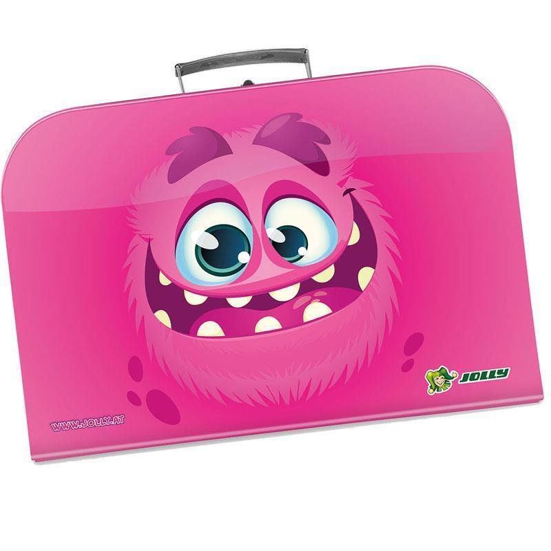 JOLLY Handarbeitskoffer Monster Pink