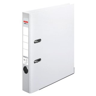 herlitz Ordner maX.file protect+ A4 50mm weiss