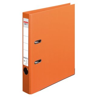 herlitz Ordner maX.file protect+ A4 50mm orange
