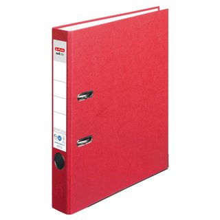 herlitz Ordner maX.file nature+ A4 50mm rot