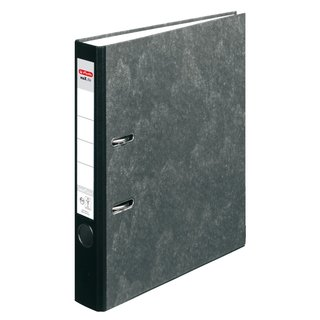 herlitz Ordner maX.file nature pocket A4 50mm Wolkenmarmor