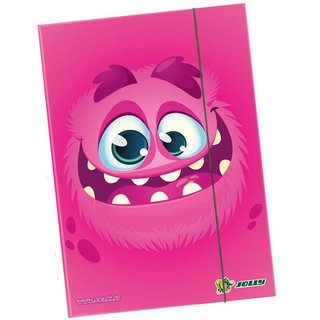 JOLLY Heftbox A4 Monster pink