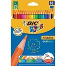 BIC KIDS Buntstifte Evolution ecolutions, 18er Kartonetui