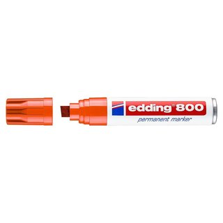 edding 800 Permanentmarker orange