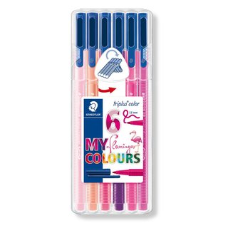 STAEDTLER 323 triplus color Fasermaler 6er Box My...