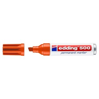 edding 500 Permanentmarker orange