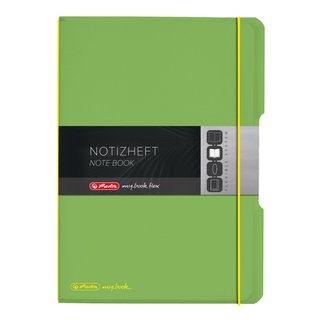 herlitz my.book flex Notizheft A4 2 x 40 Blatt...