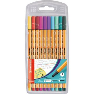 STABILO Fineliner point 88 10er Modefarben