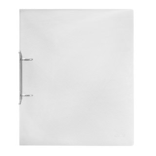 herlitz Ringbuch A4 PP 2-Ring 30mm transparent
