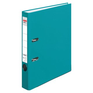 herlitz Ordner maX.file protect A4 50mm caribbean turquoise