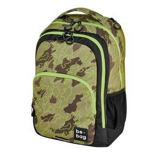 herlitz Schulrucksack be.bag be.ready abstract camouflage