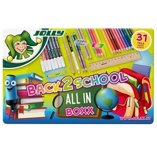 JOLLY Back To School All In, 31er -Metalletui