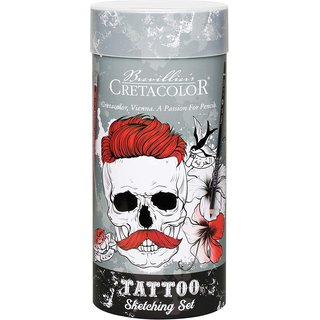 CRETACOLOR Tattoo Sketching Set 14-teilig