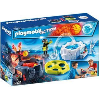 PLAYMOBIL Action Fire und Ice Action Game 6831