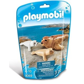 PLAYMOBIL Family Fun Robbe mit Baby 9069