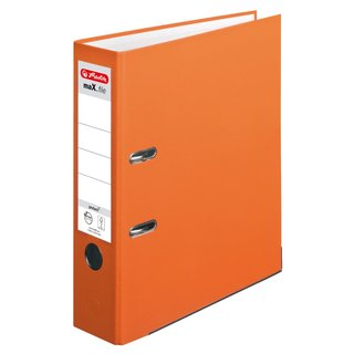 herlitz Ordner maX.file protect A4 80mm orange