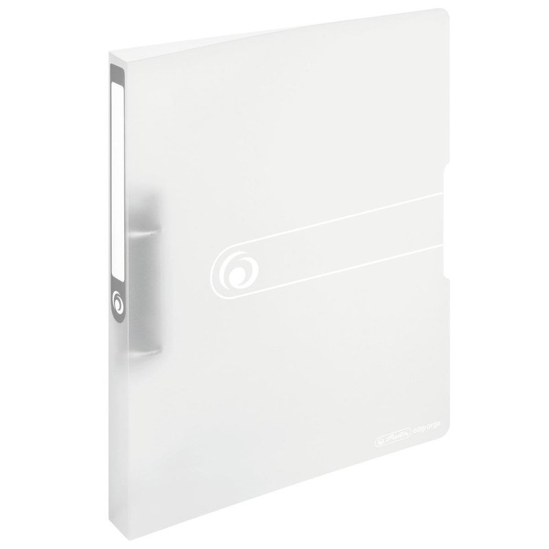 herlitz Ringbuch easy orga to go  A4 2-Ring 27mm weiß-transparent