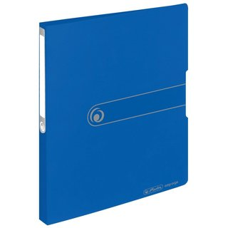 herlitz Ringbuch easy orga to go  A4 2-Ring 27mm blau opak