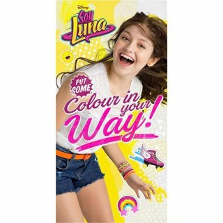 Strandtuch / Badetuch Disney Soy Luna - Colour in your Way!