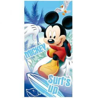 Strandtuch / Badetuch Disney Mickey Mouse - surf´s up