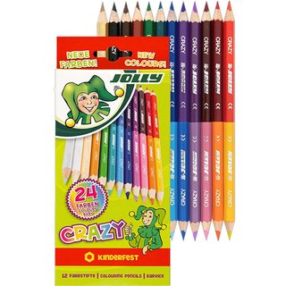 JOLLY Buntstifte CRAZY 12er Set
