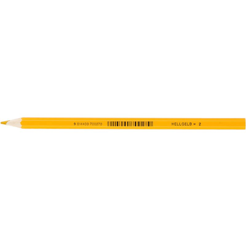 JOLLY Buntstift Supersticks Classic Einzelstift hellgelb = 2