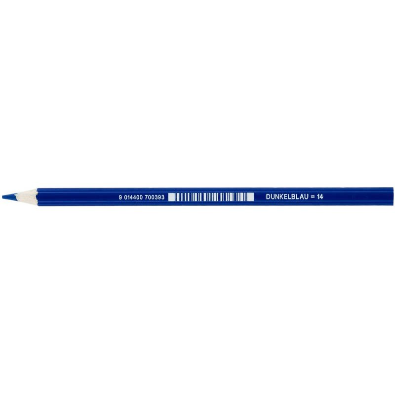 JOLLY Buntstift Supersticks Classic Einzelstift Dunkelblau = 14