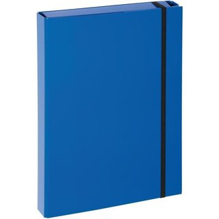 PAGNA Heftbox Basic Colours, DIN A4, blau