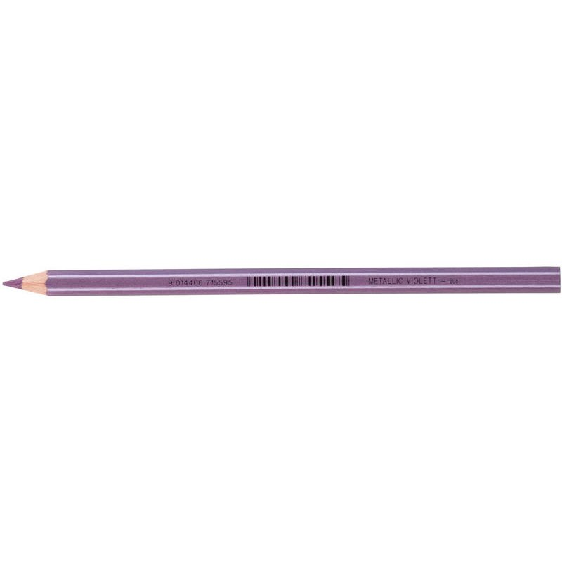 JOLLY Buntstift Supersticks Classic Einzelstift Metallic Violett = 208