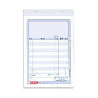 Herlitz Formularbuch Ausgabebeleg A6 302 50 Blatt 885608