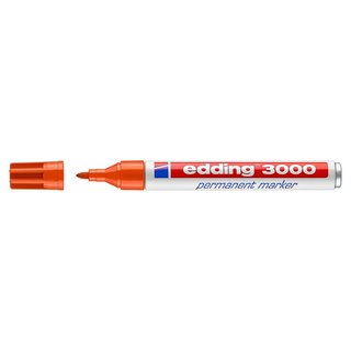 edding 3000 Permanentmarker orange